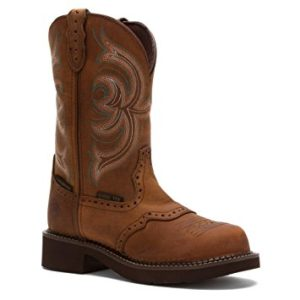 Justin Gypsy Waterproof Steel Toe Work Boot